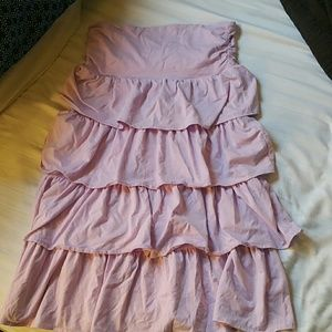 J Crew Lavender Strapless dress or skirt